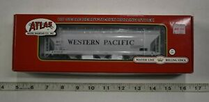 Lot 9-70 * HO Scale Atlas 20001415, ACF 4650 CF Hopper, Western Pacific #11927