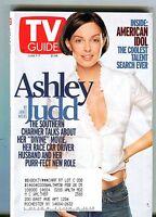 TV Guide Magazine June 1-7 2002 Ashley Judd EX w/ML 101216jhe