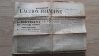 Journal Nationalist L Action Figure French 26 November 1934 N° 330 ABE