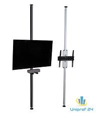 TV Säule, Boden-Decken Stange,TV Standfuss 2.35m-2.65m,TV Ständer Flexi 25-55Zol