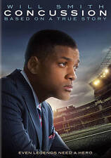 Concussion (DVD, 2016, Includes Digital Copy UltraViolet) *FREE SHIPPING*