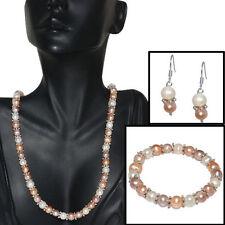 Pink Freshwater Fine Jewellery Sets