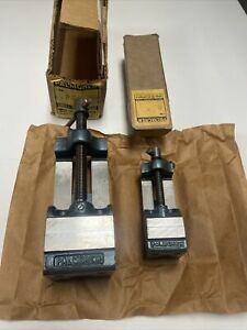 Palmgren Drill Press Vise Set #20 and #5 One Price USA Made New