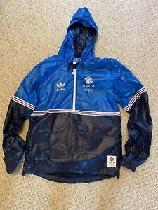 ADIDAS London 2012 Team GB Olympic blue jacket UK - Athletics Cycling RARE & NEW