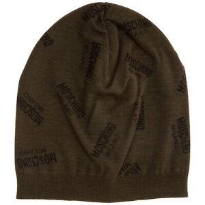 Moschino beanie men M525060068006 wool cap hat beret