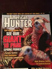 American Hunter March 2005, 18 Page Spring Turkey Hunting Primer
