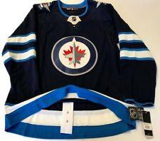 WINNIPEG JETS size 60 = size 3XL - ADIDAS NHL HOCKEY JERSEY Climalite Authentic