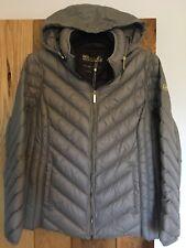 Ladies Michael Kors Packable Paca Mac Coat Jacket Taupe Size 0X approx UK 18