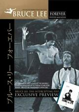 BRUCE LEE FOREVER - Intercepting Fist Special Edition Poster Magazine. NEW
