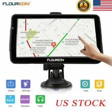 7 Inch Touch Screen 8Gb Car Gps Navigation Sat Nav Navigator Free Lifetime +Maps