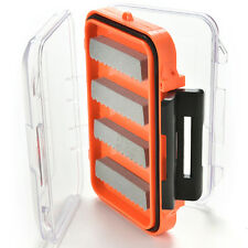 Double Side Waterproof Pocket Fly Fishing Box Slid Foam Insert Hold 170 Fliescja