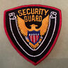 """Security Guard Gold Eagle 4"""" X 4"""" Patch"""