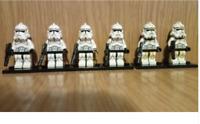 6 Pcs Stormtrooper Minifigures -  Star Wars Stormtrooper Lego MOC