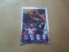 Vignette panini - Basketball 95/96 - N°280 - Spud Webb - Sacramento Kings