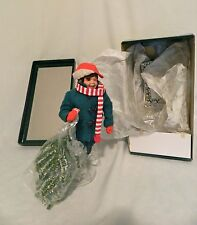 """Norman Rockwell Doll/""""Scotty gets his Tree""""/Original box/1992/ with Certificates"""