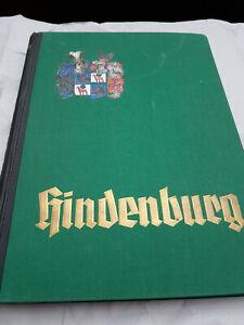 Sammelbilder Album Hindenburg Zigarettenbilder 1934