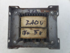 240v to 15v + 5v isolating transformer chassis mount