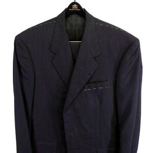 NWT Oxxford $4495 'Renaissance' Mid Gray Stripe Super 120s Wool Men Suit 42 Long