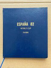 España 82 World Cup - Panini Album INCOMPLETE