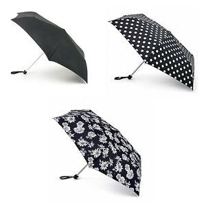 Fulton Miniflat Ladies Compact Folding Stylish Umbrella in Various Design
