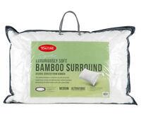 Tontine Bamboo Surround Medium Profile & Feel Pillow RRP $59.95