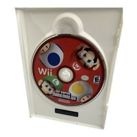 New Super Mario Bros. Wii (Nintendo Wii 2009) Disc Only Very Good Condition USA
