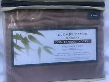 New Mauve Eucalyptus Sheet Set King Size 500 Thread Count
