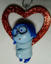 Sadness Tristess~ Handcrafted Decoration Red Heart Ornament inside out Nora Winn