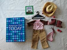 RARE!! American Girl NICKI HORSE LOVER OUTFIT COMPLETE! EUC!