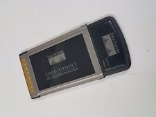 PCMCIA Card Cisco Aironet 802.11a/b/g Wireless AIR-CB21AG-A-K9 CardBus