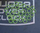 20 PCS New B Y Seal Oring of G1/4 Fitting UV green