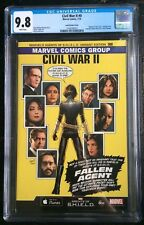 Civil War II #0 Agents Of SHIELD Greg Land Variant ASM #121 Homage CGC 9.8