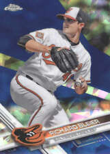 RICHARD BLEIER 2017 TOPPS CHROME SAPPHIRE EDITION #691 ONLY 250 MADE