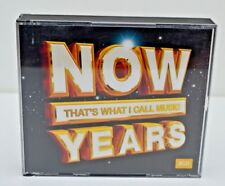 NOW THAT'S WHAT I CALL MUSIC YEARS - 3 CD SET ~ 60 TRACKS - GREAT CONDITION!
