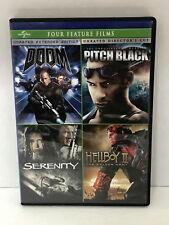 Doom / Pitch Black / Serenity / Hellboy Ii: The Golden Army (4-Dvd)