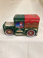 Cherrydale Farms Goodie Wagon Tin Candy Container Bank Very good condition. used
