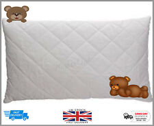 Anti-Allergy Quilted Cot Bed Pillow Comfort Nursery Junior Baby Toddler Bedding