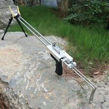 Silver Wolf Rifle Slingshot Hunting Catapult Stainless Outdoor Hunting Shooting
