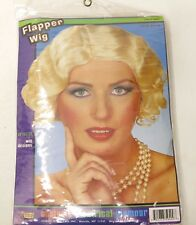 Costume Theatrical Glamour Forum Novelties INC Blonde Flapper Woman Wig NEW