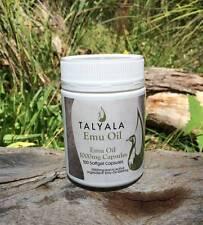 Talyala 1000mg Pure Emu Oil Capsules (*) - Arthritis,Eczema,Psoriasis