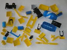 Vrac Lot de pièces LEGO CITY TOWN - BTP Chantier travaux publics / Pelles grues