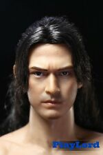 Onimusha Akechi Samanosuke Takeshi Kaneshiro Head Sculpt 1/6 Carving Figure
