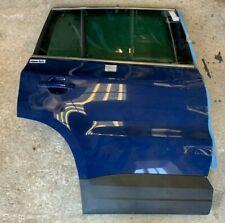 VW Volkswagen TIGUAN Porta Posteriore DX Destra Blu ORIGINALE