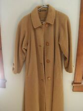women Anne Klein 2 wool mohair full leagth coat
