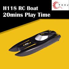Tkkj 1:47 2.4G 4Ch 10km/h Mini Rc Boat 20mins Play Time Rtr Water Toys