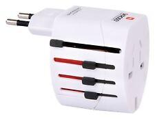 Skross World travel adapter 2-pole white