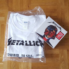 METALLICA HARDWIRED ... TO SELF-DESTRUCT & T-Shirt ( DELUXE EDITION ) NEW sealed
