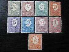 OBERSCHLESIEN UPPER SILESIA GERMAN PLEBISCITES Mi. #1-9 stamp set! CV $24.00