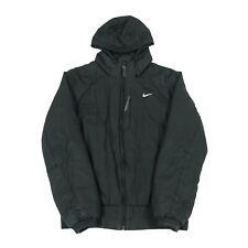 NIKE Padded Waterproof Jacket | Coat Retro Rain Hooded Vintage Zip