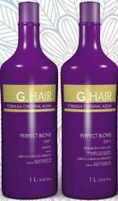 BRAZILIAN KERATIN TREATMENT, BLOW DRY HAIR STRAIGHTENING PERFECT BLOND 100ML KIT